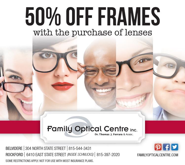 50% Off Frames